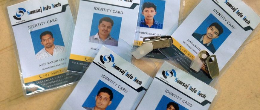 our  staff id cards