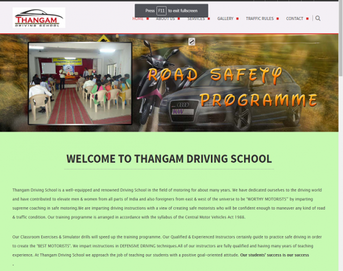 thangam driving school
